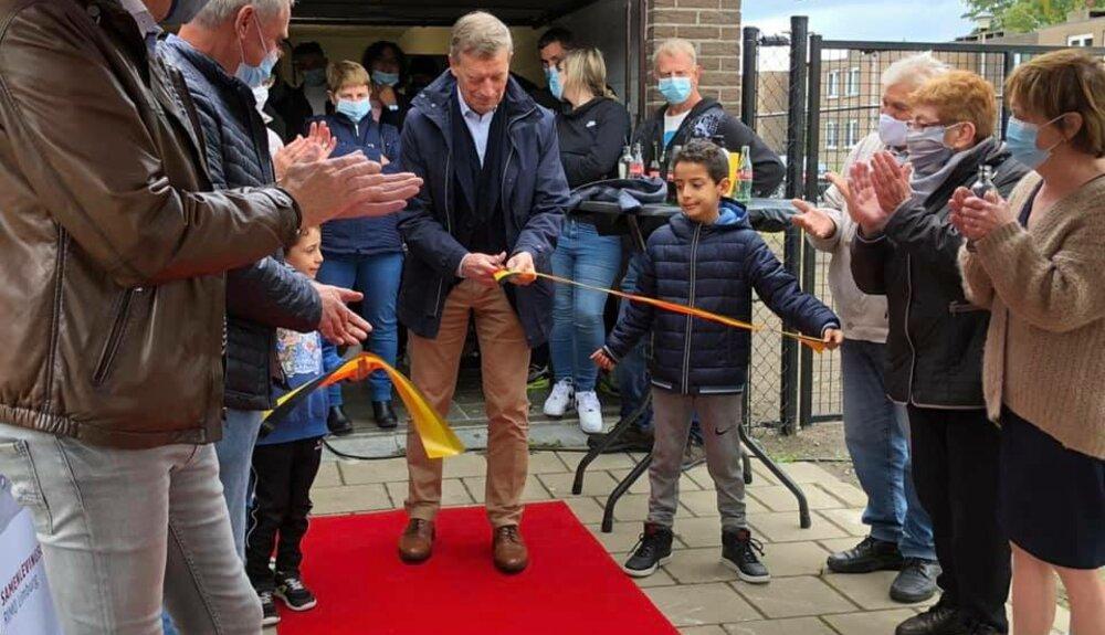 Opening buurthuis Schoonbeek